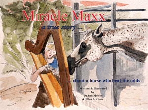 Miracle Maxx children's book by DeAnn Melton and Ellen A. Cook